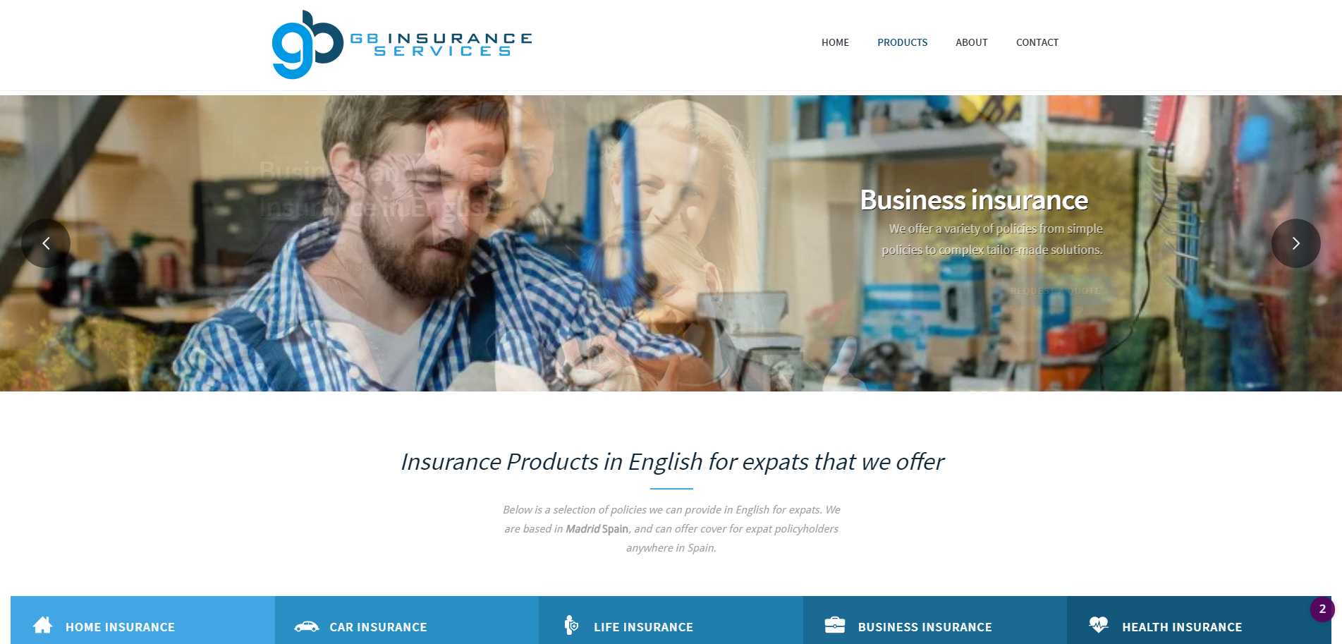 Insurance in English for Expats in Spain Madrid | GBIS